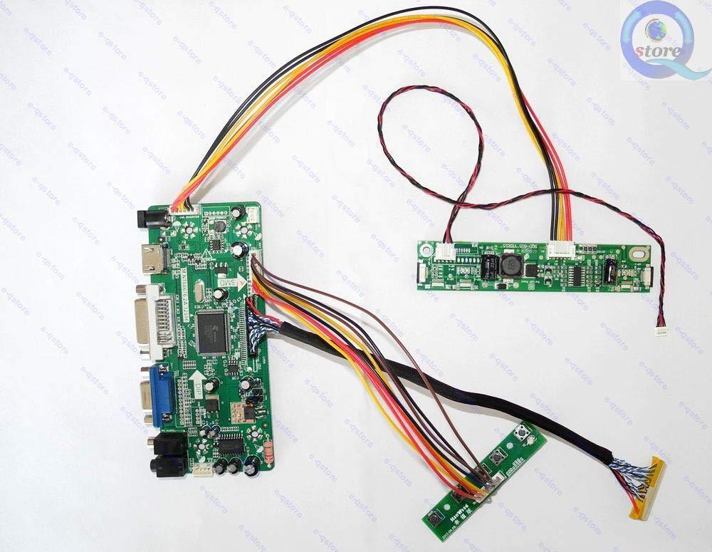 FidgetFidget Controller Board HDMI+DVI+VGA LED LCD Lvds Driver Kit for LM215WF3(SL)(C1) SLC1