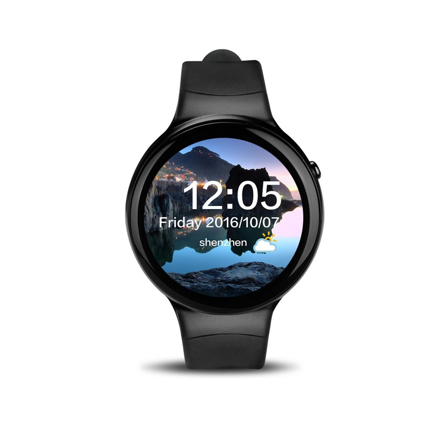 Smart Watch I4 pantalla redonda 3G SIM tarjeta de ranura ...