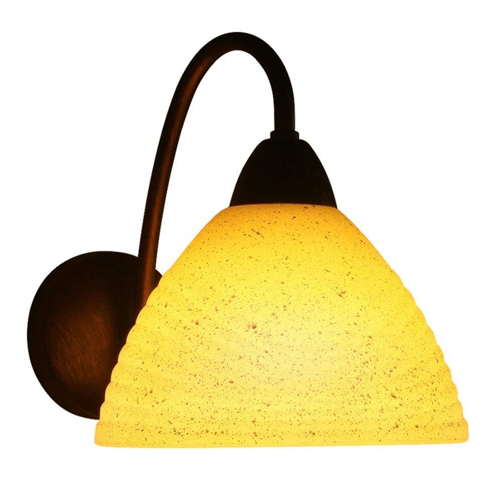FXING Wandleuchte Beleuchtung einfache, Moderne Wohnzimmer Gang Schlafzimmer Nachttischlampe