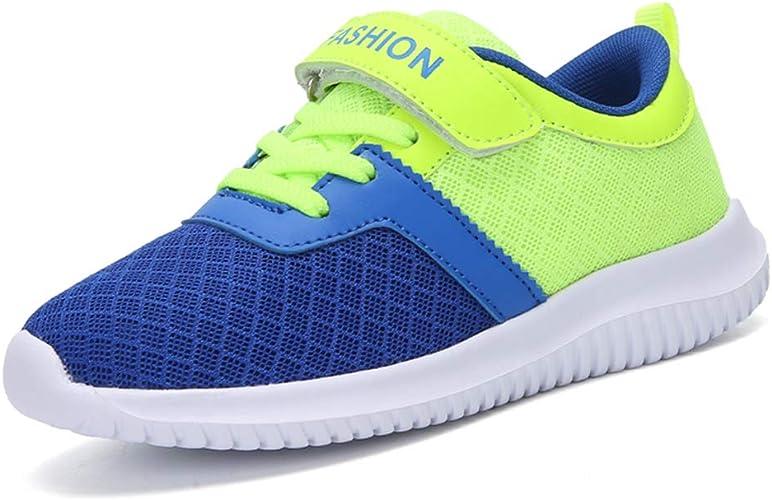 HSNA Baskets Mode Enfants Gar/çon Respirant Chaussures de Course Antid/érapantes 29-39 EU