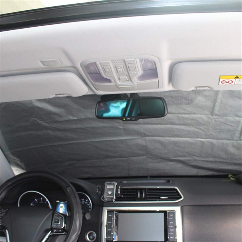 Klinkamz Car SUV magn/étique Pare-Brise Coque Givre Ice Shield Neige poussi/ère Protector Covers