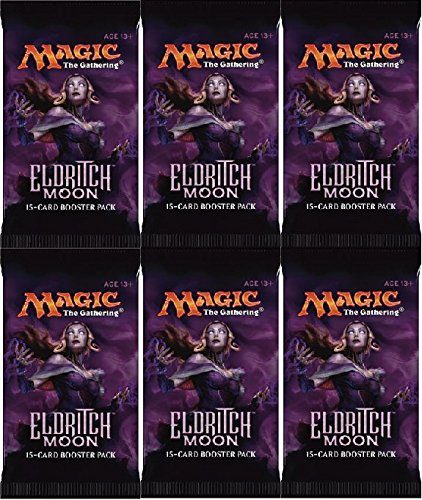 Magic: The Gathering 6 (Six) Packs MTG: Eldritch Moon Booster