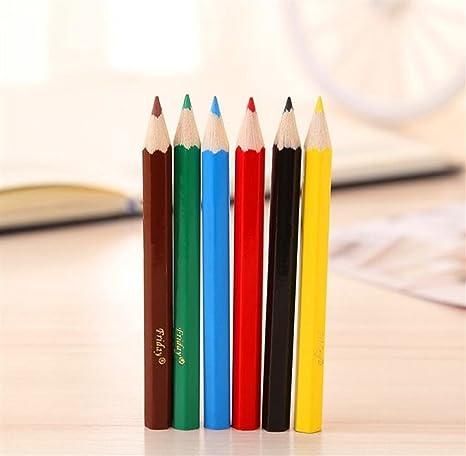 xinjiener Lápices de Colores Mini lápices Cortos para ...