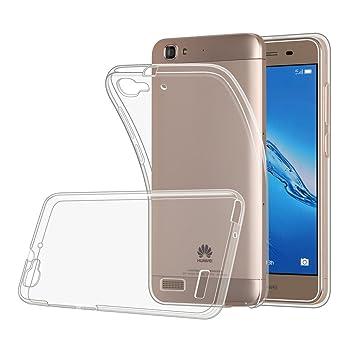 Huawei P8 Lite Smart Funda case , MENGGOOD TPU Cover Suave ...