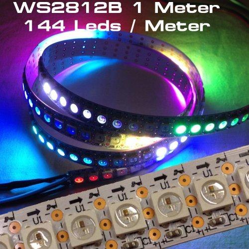 1 Meter 144 Leds WS2812B Streifen Stripe weiss mit WS2811 Controller