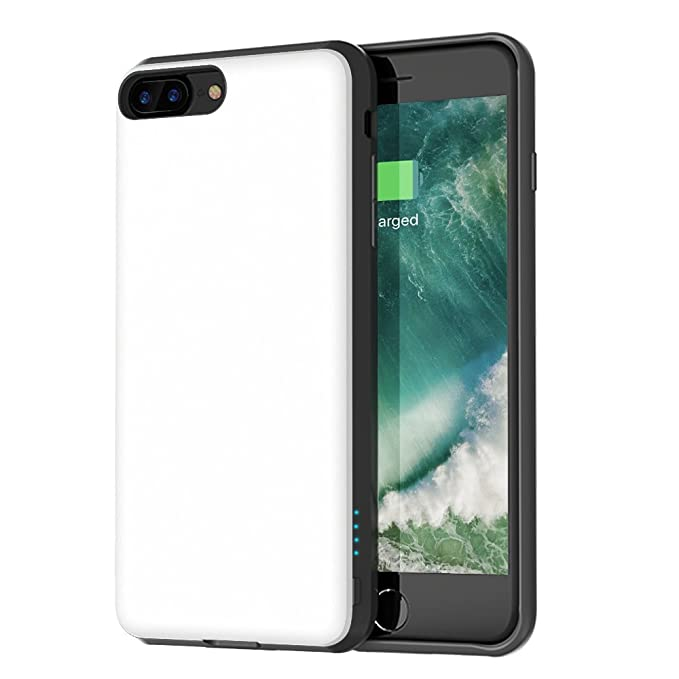 Amazon Com Iphone 8 Plus 7 Plus Battery Case Support Lightning