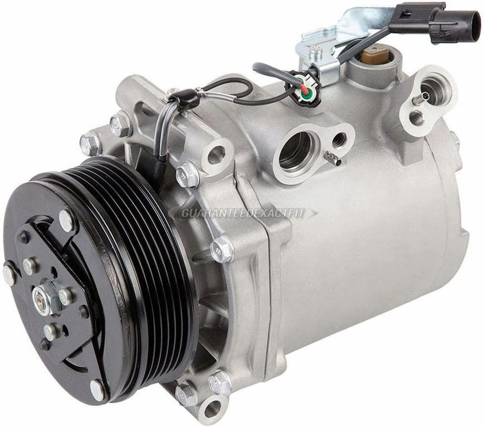For Mitsubishi Lancer /& Outlander AC Compressor w//A//C Condenser /& Drier BuyAutoParts 60-86981R3 New