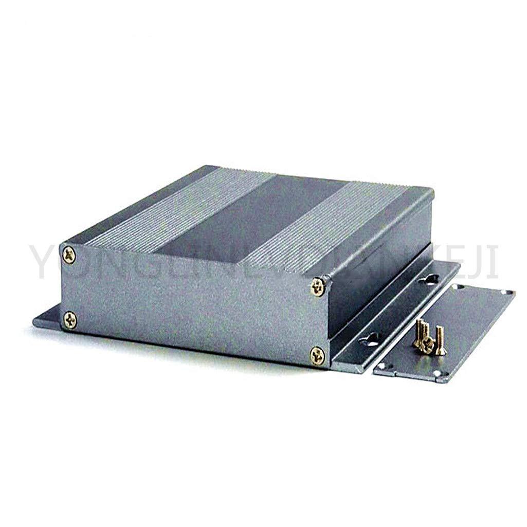 Yonglinlvdiankeji Lot de 2 boîtes en aluminium 131 x 27-120 mm/coque en aluminium pour carte mère