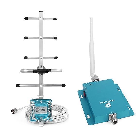 Proutone gsm 900MHz Kit de Antena del Repetidor Amplificador de Señal de Teléfono Celular: Amazon.es: Electrónica