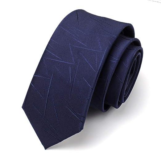 Corbata/Corbata Azul/Estudiante / 6 cm versión Estrecha/Corbata de ...