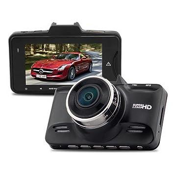 Ambarella A7LA70 GS98C Coche DVR GPS Logger 1296P Full HD 2.7 pulgadas de pantalla Visión Nocturna 178 Grado ángulo lente G-Sensor: Amazon.es: Coche y moto