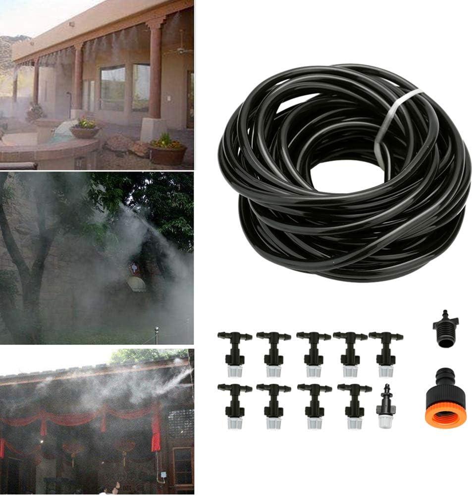Danigrefinb - Kit de Manguera atomizadora para riego de jardín, para Plantas de Invernadero, llenado de Flores, 1#: Amazon.es: Jardín