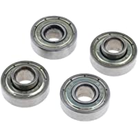 kesoto 4 Pcs Wheelchair Front Caster Wheel Bearings for Most Standard Wheelchair,Replacement, 0.9 inch Diameter