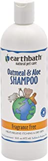 product image for Earthbath Oatmeal & Aloe Pet Shampoo - Fragrance-Free, Relieves Itching & Dry Skin, Aloe Vera, Vitamin E, Glycerin to Moisturize - Effectively Enrich and Revive Your Pet's Coat - 16 fl. oz