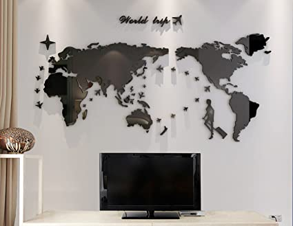 Plastic the world trip map wall stickerswall decalswall tattoos plastic the world trip map wall stickerswall decalswall tattooswall transfers gumiabroncs Image collections