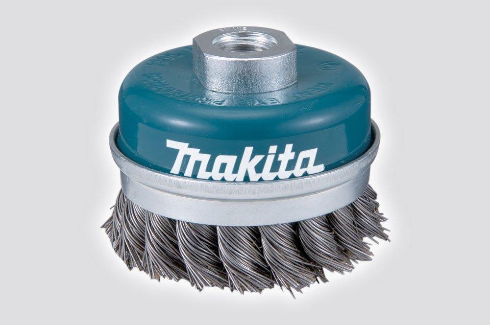 Makita D-24147 Bowl Cup Brush 60Xm10X1.5 0.5 - Multi-Colour