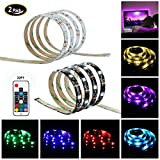 2 Packs USB LED Strip light , Nexlux tv light strip 100cm(3.28Ft) TV ...