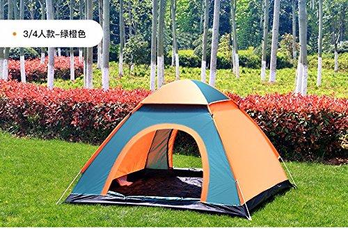 ZHUDJ Feld Camping Zelte, Lampen, Lampen, Vintage Home Automatische Zelte, Mäntel, Angeln, Camping Zelte, Orange