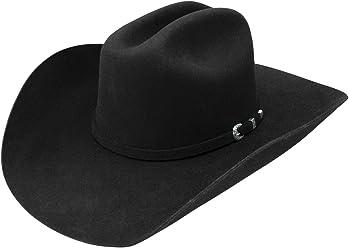 6745c91fc9e025 Resistol Lange 3X Black Felt Cowboy Hat