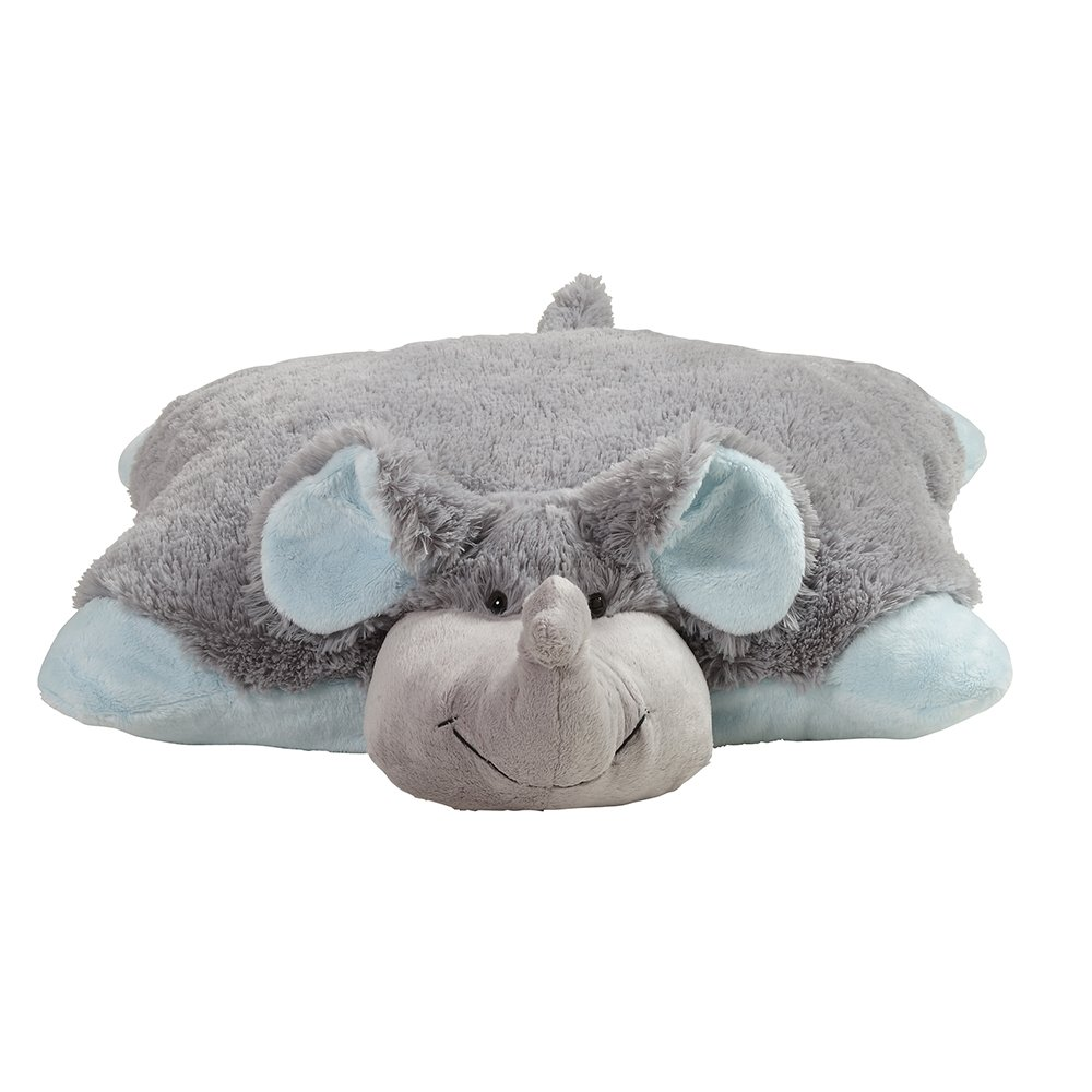 Pillow Pets My My Nutty Elephant - Large, Grey 27inch/68cm