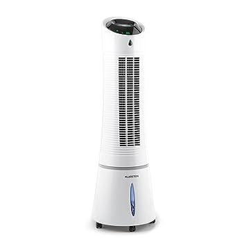 Klarstein Skyscraper Ice 4-in-1 Klimagerät Version 2019: Ventilator + Luftkühler + Luftbefeuchter + Ionisator (3 Betriebsmodi