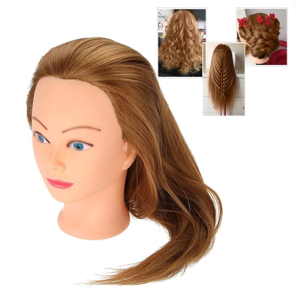 Amazon Com Training Head Hair Salon Styling Practice Head Mannequin Hairdressing Training Head Wig Practice Tools Beauty