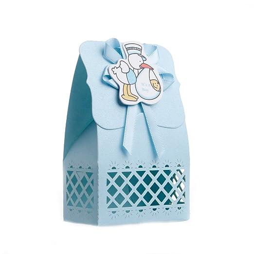 aisme 12pcs cinta cajas de caramelos para bebé recién ...