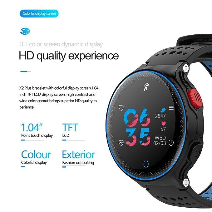 Btruely Smartwatch Relojs Inteligente Impermeable X2plus ...