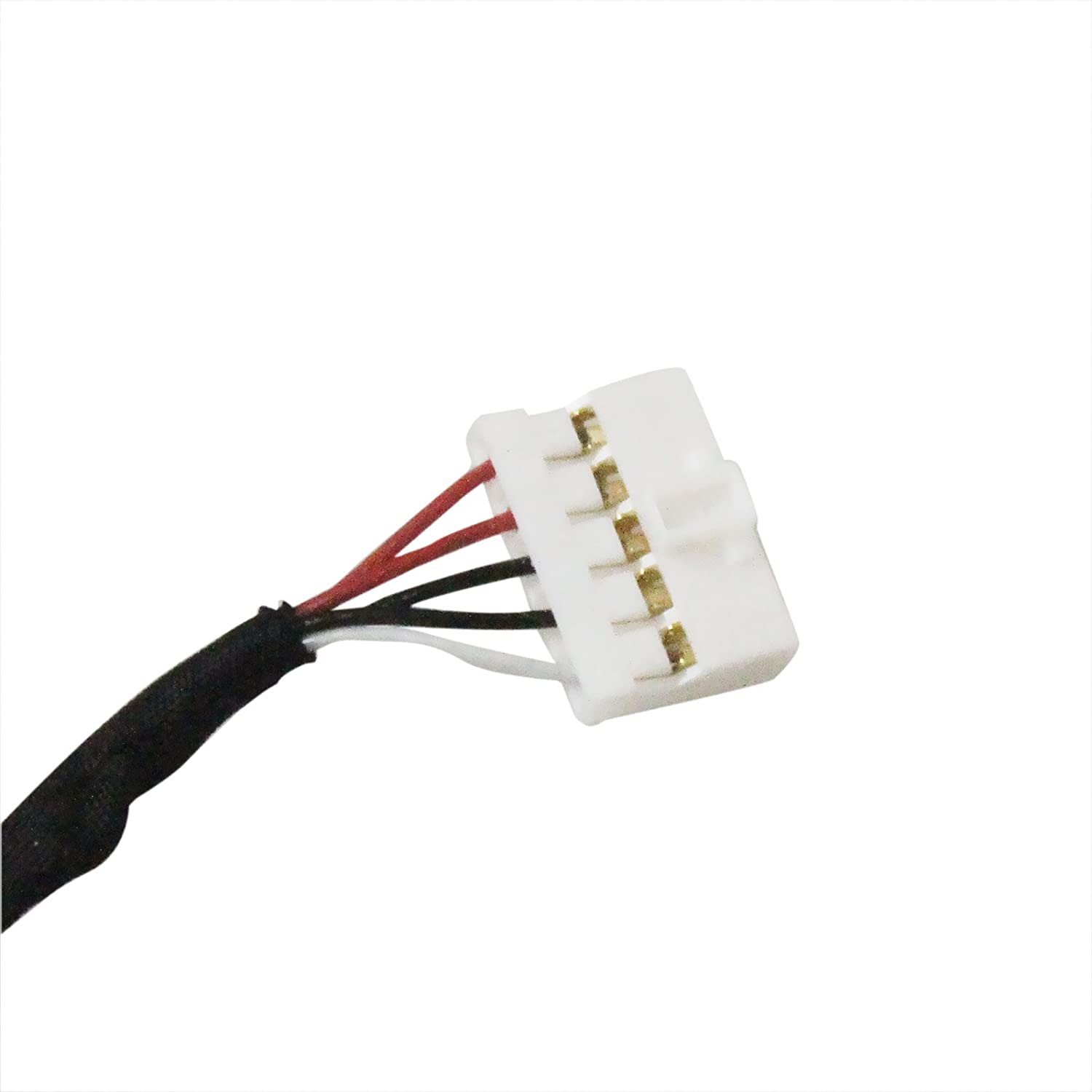 Amazon.com: DC Power Jack HARNESS PLUG IN CABLE For DELL Inspiron ...