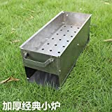 Barbecue stove outdoor charcoal grills portable home barbecue stove wild fold stove carbon oven  5 people or...