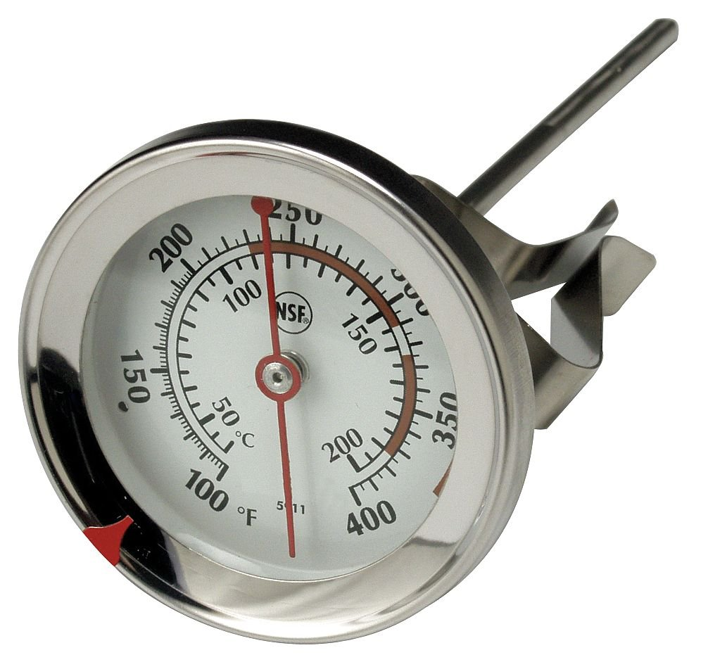 TAYLOR 6DKD9 Thermometer, Candy or Jelly, 200 to 400F