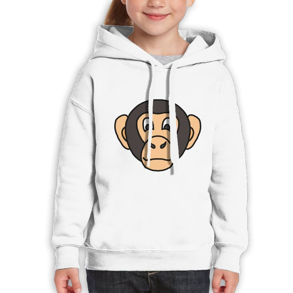 Fashion Girl's Sweatshirts,Soft Cartoon Animal Names Biography Cotton Hooded Pullover For Girl