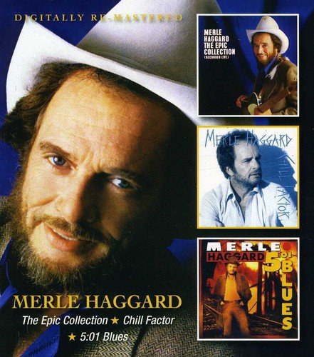 Price comparison product image Merle Haggard - The Epic Collection / Chill Factor / 5.01 Blues
