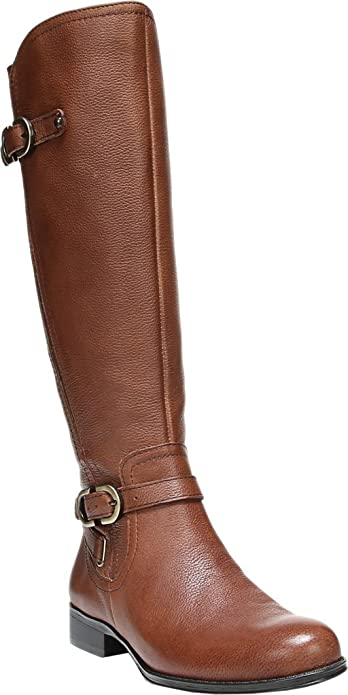 0edb00e19 Naturalizer Women's Jennings Wide Calf Tall Boot,Banana Bread Cairo,US 5.5 M