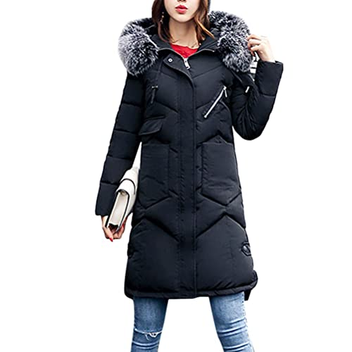 Zhhyltt Caliente para el invierno Fashion Down Feather Outerwear Cotton Suits Korean Style Slim Larg...