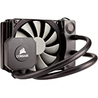 Corsair Hydro Series H45 - Sistema de Refrigeración Líquida (Radiador de120 mm, un ventilador SP120 PWM, All-in-One Liquid CPU Cooler), Negro
