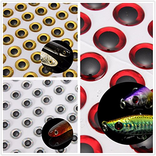 - Sports & Outdoor - Rebel Lures Deep Diving Crankbaits Fish Eyes Jerk Baits - Zanlure 100 6mm Red/Silver 3d Holographic Fishing Lure Eyes Fly Tying Jigs Crafts Baits - Deep Diving Crankbaits - 1PCs