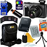 Canon PowerShot SX720 HS 20.3 MP Wi-Fi Digital Camera with 40x Optical Zoom & HD 1080p video (Black) + 10pc 32GB Accessory Kit w/HeroFiber Gentle Cleaning Cloth
