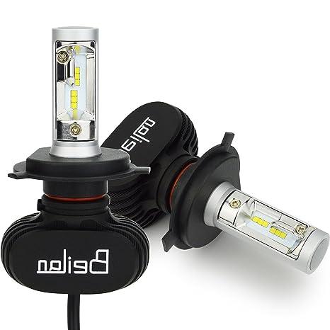 H4 HB2 9003 Bombilla de Faros LED para automóvil sin CANBUS: Amazon.es: Electrónica