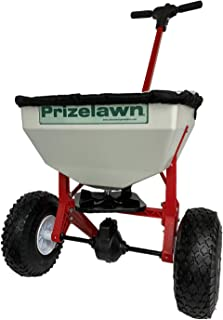 product image for Earthway LFII PrizeLawn Little Foot 50 Lb Capacity Commercial Home Walk Behind Seed and Fertilizer Garden Spreader