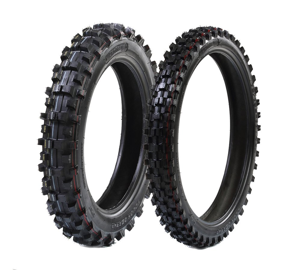 ProTrax Offroad Front 70/100-19 Inch & Rear 90/100-16 Inch Tire Combo