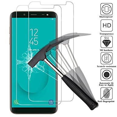 size 40 788e5 edbce ANEWSIR [2-Pack] Compatible with Samsung J6 Screen Protector (5.6