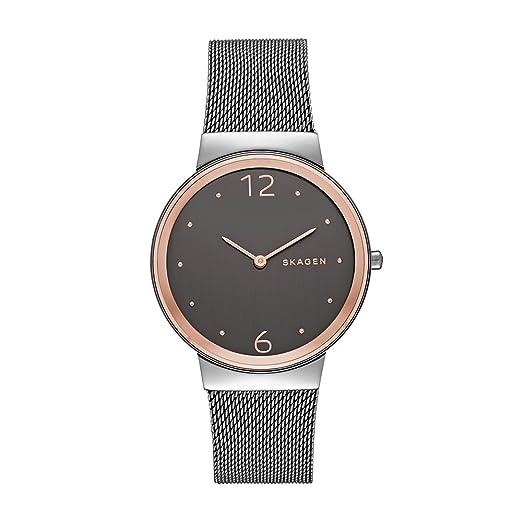 e4441a73e52d Skagen Reloj Mujer de Analogico con Correa en Acero Inoxidable SKW2382   Skagen  Amazon.es  Relojes