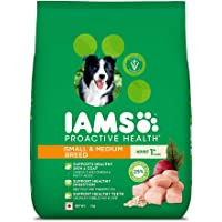IAMS Proactive Health Adult Small & Medium Breed Dogs (1+ Years) Dry Dog Food, 3 kg