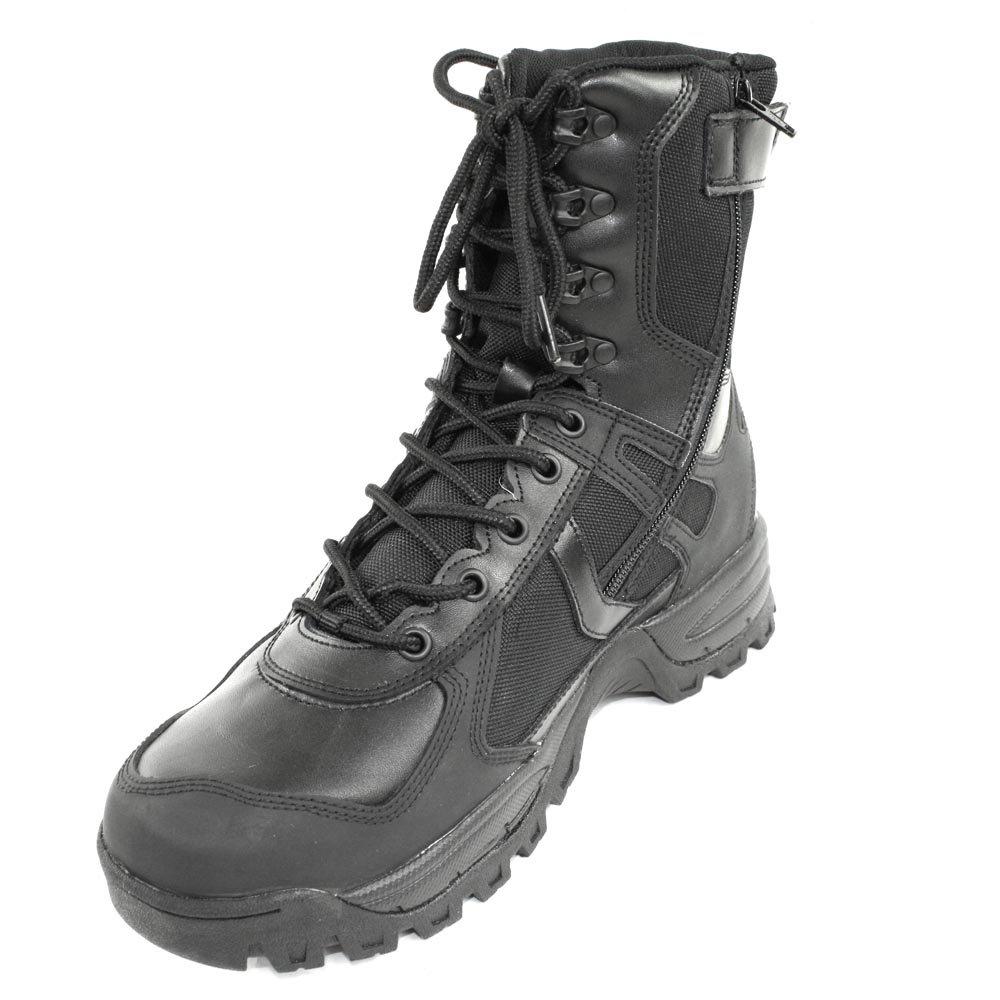 Mil-Tec Stiefel Patrol One Zip, schwarz 45 (12)