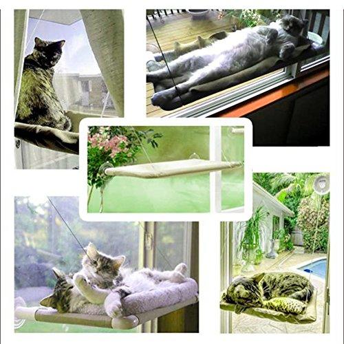 Original Pet Bed Linkspe Seat Window Mounted Cat Bed Cat Hammock new ()