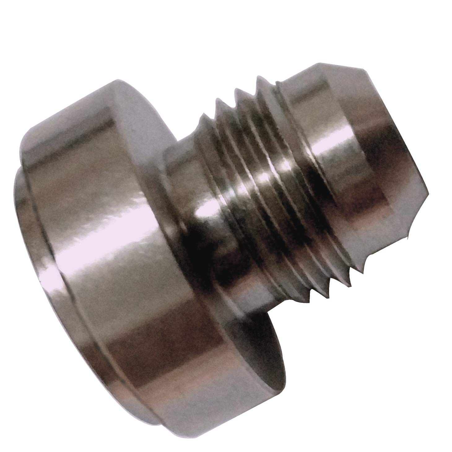 Weld on Bung Hose Barb Aluminum Nipple 3//4 inch Barbed Weldable Pipe Adapter Fittings