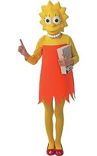 Fox - I-885072m - Disfraz para niños - Clásico Lisa Simpson - Talla M