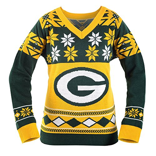 best sneakers abf72 ca826 Green Bay Packers Ugly Christmas Sweaters