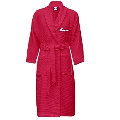 Amazon.com: Bang Tidy Clothing Personalised Dressing Gowns Waffle ...